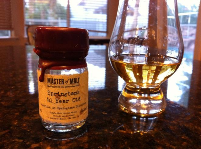 Springbank 10 Sample